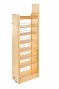"Rev-A-Shelf - 448-TP58-11-1 - 11"" W x 58"" H Wood Pantry Pullout Soft Close"