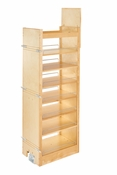 "Rev-A-Shelf - 448-TP58-14-1 - 14"" W x 58"" H Wood Pantry Pullout Soft Close"