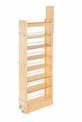 "Rev-A-Shelf - 448-TP58-8-1 - 8"" W x 58"" H Wood Pantry Pullout Soft Close"