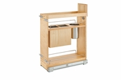 "Rev-A-Shelf - 448KB-BCSC-8C - 8"" Base Cabinet Organizer w/ Knife Block SC"