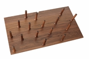Rev-A-Shelf - 4DPS-WN-3921 - Large 39 x 21 Wood Peg Board System w/ 16 pegs