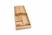 "Rev-A-Shelf - 4KCB-18SC-1 - 18"" Knife and Cutting Board Drawer Kit Soft Close"