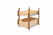"Rev-A-Shelf - 4PIL-18SC-2 - 15"" Wood Pilaster System Kit"