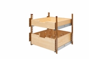 "Rev-A-Shelf - 4PIL-24SC-2 - 21"" Wood Pilaster System Kit"