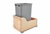 Rev-A-Shelf - 4WCSD-1550DM-1 - Servo 50 Quart Pullout Waste Container