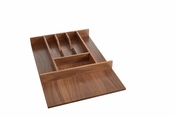 Rev-A-Shelf - 4WCT-WN-1SH - Short Walnut Cutlery Tray Insert