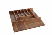 Rev-A-Shelf - 4WCT-WN-3SH - Short Walnut Cutlery Tray Insert