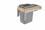 Rev-A-Shelf - 4WCTM-12BBSCDM1 - 35 Quart Top Mount Waste Container