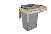 Rev-A-Shelf - 4WCTM-1550BBSCDM-1 - 50 Quart Top Mount Waste Container