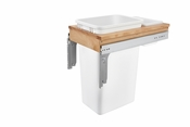 Rev-A-Shelf - 4WCTM-1550DM1-343-FL - 50 Quart Top Mount Waste Container