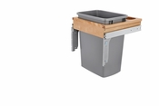 Rev-A-Shelf - 4WCTM-1816DM-1 - 35 Quart Top Mount Waste Container