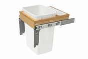 Rev-A-Shelf - 4WCTM-1818DM-1-162 - 35 Quart Desk Mount Waste Container