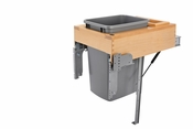 Rev-A-Shelf - 4WCTM-RM-1835DM-1 - 35 Quart Top Mount Waste Container