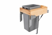 Rev-A-Shelf - 4WCTM-RM-1850DM-1 - 50 Quart Top Mount Waste Container