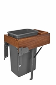 Rev-A-Shelf - 4WCTM-WNRM-1850DM-1 - 50 Quart Top Mount Waste Container