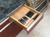 "Rev-A-Shelf - 4WKB-1 - Knife Block Drawer""sert-Wood"