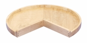 "Rev-A-Shelf - 4WLS901-24-52 - 24"" Wood Pie-Cut Lazy Susan Shelf Only"
