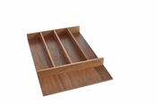 Rev-A-Shelf - 4WUT-WN-1SH - Short Walnut Utility Tray Insert