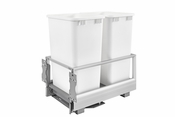 Rev-A-Shelf - 5149-2150DM-211 - Double 50 Quart Pullout Waste Container