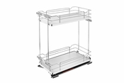 Rev-A-Shelf - 5322-BCSC-5-GR - Two-Tier Wire Organizer with Blum Soft-Close
