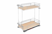 Rev-A-Shelf - 5322-BCSC-11-MP - Two-Tier Wire Organizer with Blum Soft-Close