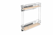 Rev-A-Shelf - 5322-BCSC-6-MP - Two-Tier Wire Organizer with Blum Soft-Close
