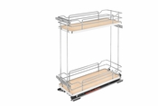 Rev-A-Shelf - 5322-BCSC-8-MP - Two-Tier Wire Organizer with Blum Soft-Close