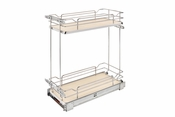 Rev-A-Shelf - 5322-BCSC-9-MP - Two-Tier Wire Organizer with Blum Soft-Close