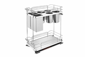 Rev-A-Shelf - 5322KB-BCSC-11-GR - Two-Tier Knife Organizer with Blum Soft-Close