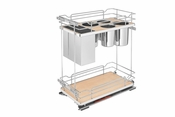 Rev-A-Shelf - 5322KB-BCSC-11-MP - Two-Tier Knife Organizer with Blum Soft-Close