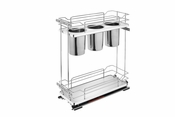 Rev-A-Shelf - 5322UT-BCSC-6-GR - Two-Tier Utility Organizer with Blum Soft-Close