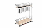 Rev-A-Shelf - 5322UT-BCSC-8-MP - Two-Tier Utility Organizer with Blum Soft-Close