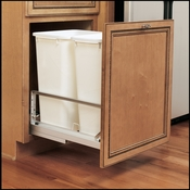Rev-A-Shelf - 5349-2150DM-2 - Double 50 Quart Pullout Waste Containers