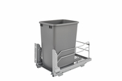 Rev-A-Shelf - 53WC-1535SCDM-117 - 35 QT Pullout Waste Container Soft-Close