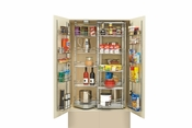 "Rev-A-Shelf - 5722-36CR - 31"" Chrome Chef's Pantry w/ Door Storage"