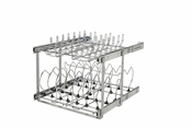 "Rev-A-Shelf - 5CW2-2122SC-CR - 21"" 2-Tier Cookware Organizer w/ Soft-Close"