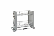 "Rev-A-Shelf - 5PD-24CRN - 24"" Chrome Pull Down Shelf"