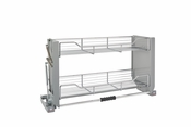 "Rev-A-Shelf - 5PD-36CRN - 36"" Chrome Pull Down Shelf"