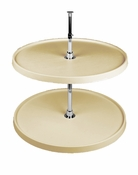 "Rev-A-Shelf - 6071-16-15-52 - 16"" Almond PolymerFull Circle Lazy Susan Shelf Only"
