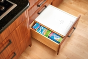 Rev-A-Shelf - BDC-200-11 - Small White Bread Drawer Cover Kit