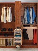 Rev-A-Shelf - CAS-081636-1 - Closet Storage Armoire Wood