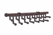 "Rev-A-Shelf - CTR-14-SN - 14"" Satin Nickel Tie/Scarf Rack"