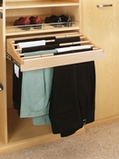 "Rev-A-Shelf - CWPR-2414-1 - 24"" Wood Pants Rack Organizer"