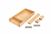 "Rev-A-Shelf - LD-4CT15-1 - 15"" Small Wood Customizable Drawer Kit"