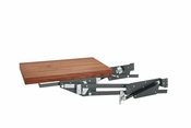 Rev-A-Shelf - ML-WNHDSCOG-18FL - Heavy Duty Appliance Lift with Walnut Shelf Soft-Close
