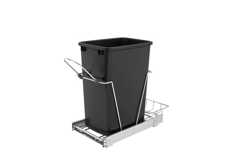 rev a shelf rv 12kd 18c s 35 quart pullout waste container trash can pullouts. Black Bedroom Furniture Sets. Home Design Ideas