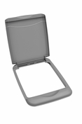 Rev-A-Shelf - RV-35-LID-17-1 - 35 Quart Lid Only (Silver)