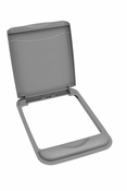 Rev-A-Shelf - RV-50-LID-17-1 - 50 Quart Lid Only (Silver)