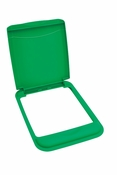 Rev-A-Shelf - RV-50-LID-G-1 - 50 Quart  Recycling Lid (Green)