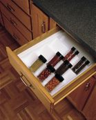 "Rev-A-Shelf - ST-2GW-52 - Glossy White Spice Tray Drawer""sert"